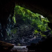 One of the entrances at Deer Cave, Gunung Mulu National Park