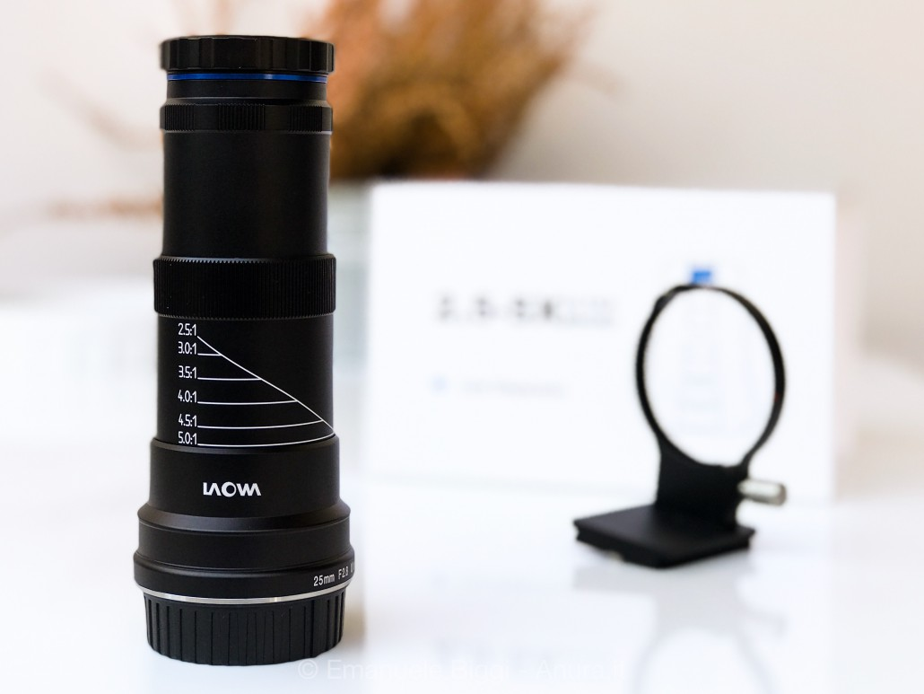 Laowa 25mm f/2,8 2,5-5x Ultra macro
